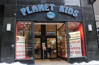 The Upper East Side location of Planet Kids opened in 1999.