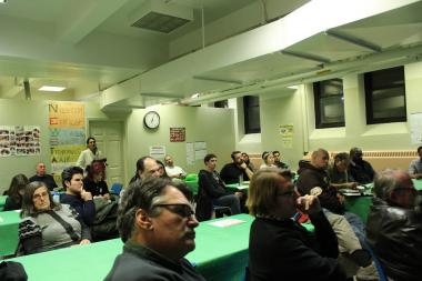 Residents and community members met at the Miccio Center in Red Hook on Feb. 5 to discuss possible improvements for the neighborhood's issues regarding transportation and accessibility.