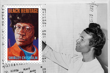 The United States Postal Service unveiled a new Shirley Chisholm stamp.