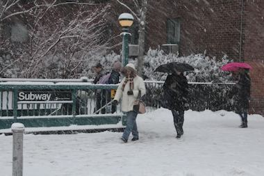 The city has been battered with 28.8 inches of snow this February, the second highest total on record.