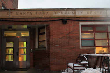 St. Mary's Park Community Center in Mott Haven, where the South Bronx site of the Young Women Rock! Mentorship Program will be held.