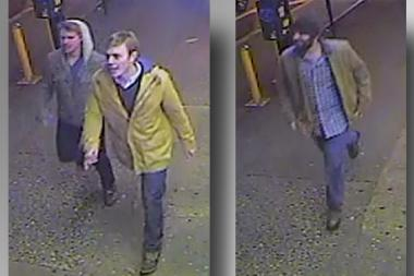 Three men hurled anti-gay insults a man they attacked in Gramercy Wednesday, police said.