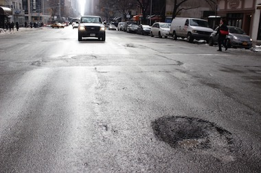 Residents on the Upper East Side have filed more than 50 complaints of pothole and cave-ins since January 1st, 311 records show.