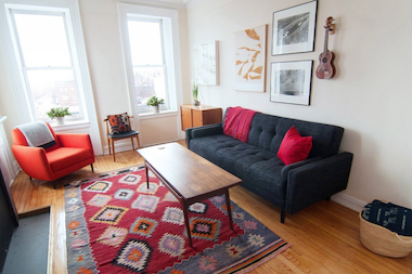 Local interior designers offer advice on creating a comfortable space on a tight budget.
