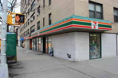 Three men robbed a man of his cellphone and cash as he was walking at 23rd Street and Third Avenue.