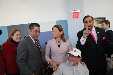 "East Harlem politicos with close ties to City Council Speaker Melissa Mark-Viverito are borrowing Mayor Bill de Blasio's Dickensian ""Tale of Two Ciies"" campaign motif to explain why they are supporting Sen. Adriano Espaillait over Charlie Rangel in the Democratic primary for the 13th congressional district. In their analogy, Rangel, seeking a 23rd term, has favored his home political base of Central Harlem over East Harlem when it comes to bringing home the bacon. The proof is in Central Harlem's rapidly gentrifying neighborhoods."