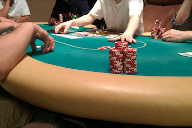 A poker game hosted by Social Poker.