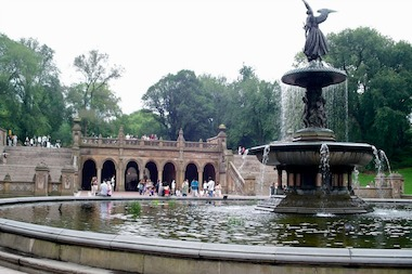 The Angel of the Waters statue is one of many elements in Central Park that was designed by a woman.