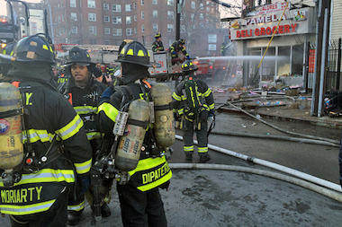 There was a $98 million settlement in a 2007 suit brought by a group of black firefighters alleging discrimination in the FDNY's hiring practices.