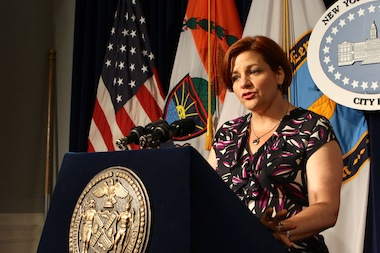 Former City Council Speaker Christine Quinn was a top choice for CEO at GMHC, sources said.