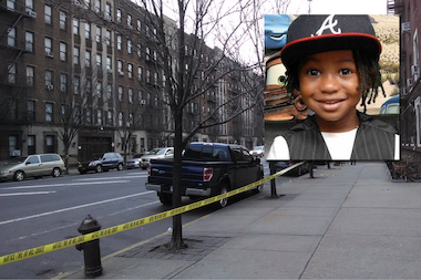 Roshard Charles, 5, died when Elizabeth Mayard backed into him with her minivan, police said.