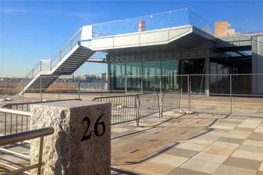 Pier 26 in Tribeca is opening in May 2014.
