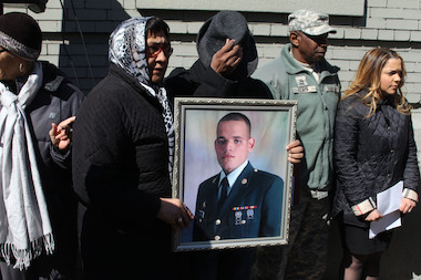 Audubon Avenue and 177th Street now bears the name of Sgt. Jose Enrique Ulloa, who died at age 23 in a bomb blast in Iraq.