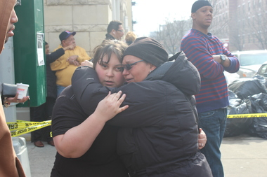 Family members search area hospitals for loved ones killed or injured in the East Harlem blast.