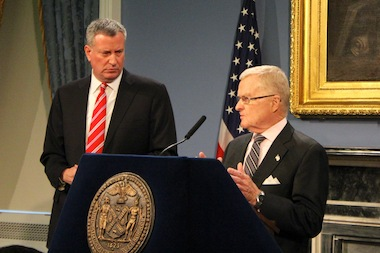 Sanitation Commissioner John Doherty will depart from Mayor Bill de Blasio's administration on March 28, after serving as commissioner for more than a decade.