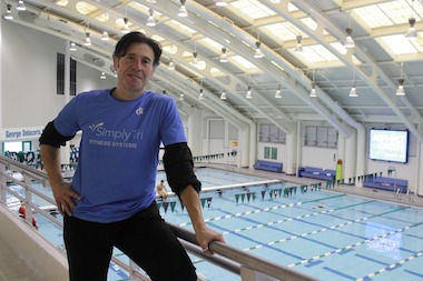 Pat Perretta says the Simply Tri program, which he now coaches, saved his life.