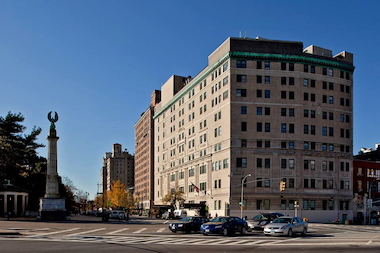 The Prospect Park Residence assisted living facility on Prospect Park West and Grand Army Plaza in Park Slope.