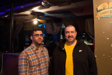 General manager Robert Gilberto and Bobby Parker, owner of The Full Cup music venue in Stapleton, plan to start a campaign to raise money to keep the venue open while they work on changing the front from a coffee shop to a pizzeria.