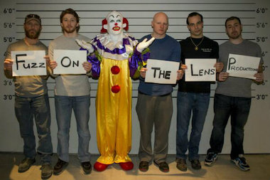 Staten Island-based film company, Fuzz on the Lens, confirmed it was behind the creepy Staten Island clown on Friday.