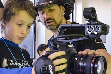 "Automatic Studios is ""an interactive community where kids engage in and learn the art and technical skills of moviemaking,"" according to their website."