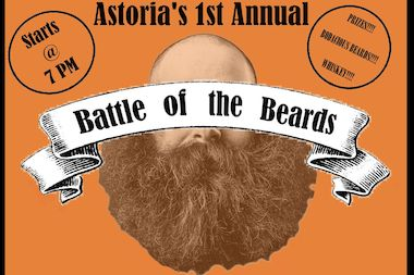 Astoria pub The Quays will host its first Astoria Battle of the Beards competition on Tuesday.