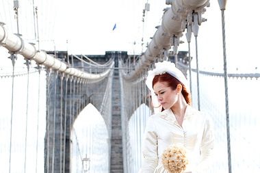 We rounded up the best places to be photographed in New York City on your wedding day.