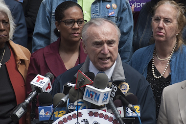 Police Commissioner Bill Bratton said he will continue to push the agency's presence on social media on April 23, 2014.