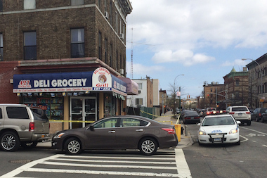 A co-owner of the bodega at 427 Central Ave. was shot and killed there Thursday, neighbors said.