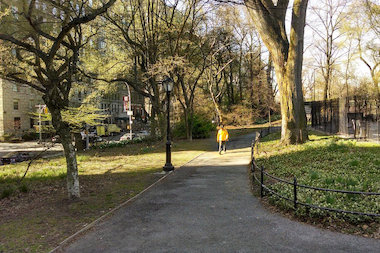 The teens stole an iPad and iPhone while robbing people in Central Park Monday, police said.