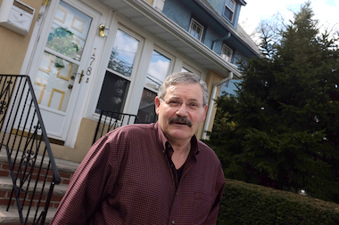 Hank D'Amato shows his Bay Ridge home.
