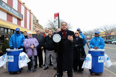 City Councilman Costa Constantinides has allocated $40,000 in discretionary funds to hire workers from The Doe Fund to clean three major thoroughfares in Astoria.