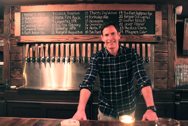 From fbi to ipa former g man opens craft beer bar in the for Craft beer bars new york
