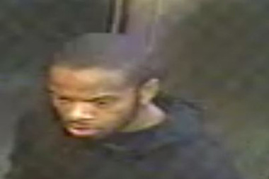 The suspect in the Bronx elevator robbery.