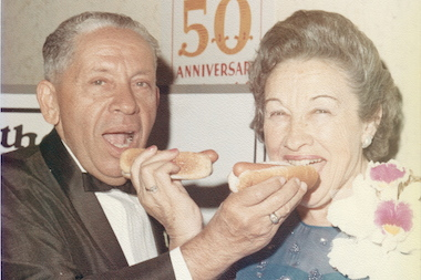 Filmmaker Lloyd Handwerker is the grandson of Nathan Handwerker, who opened Nathan's Famous frankfurters in 1916