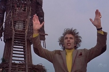"A screenshot from the original version of ""The Wicker Man,"" which will be showing at the Nighthawk Cinema on Thursday."