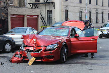 A bicyclist was killed when he was hit by a vehicle in Bushwick Wednesday morning, police said.