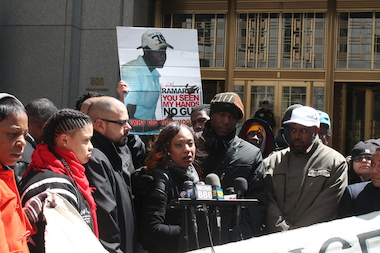 The family of Ramarley Graham, the Bronx teen fatally shot in his own home by NYPD Officer Richard Haste, demanded Wednesday that the Department of Justice formally investigate the teen's death. After Haste's manslaughter indictment was thrown out due to improper jury instructions from the Bronx District Attorney's office, a second grand jury declined to indict Haste in August 2013.