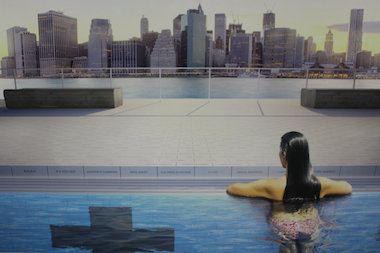 Designers expect the world's first floating filtration pool to launch in New York by the Spring of 2016.