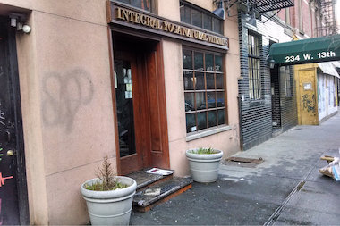 Integral Yoga Natural Vitamins was shuttered after a fire erupted inside Thursday morning.