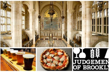 "The ""Judgement of Brooklyn"" event will feature 32 beers, 32 wines and 10 local restaurants."