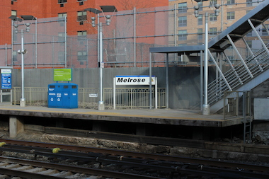 The Melrose Station in the South Bronx.