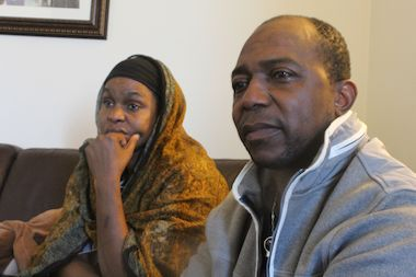 Mother Sanata Diakite, 42, and father Gaoussou Fofana, 50, sought answers after their son was found dead after falling 43 stories from a Bronx apartment tower.