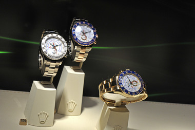 Police said two Rolex watches were swiped from a safe at the Dream Hotel.