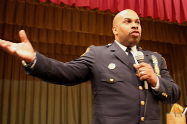 Deputy Inspector Scott Henderson, the new commanding officer of the 81st Precinct, promised to rebuild trust between police and the community.