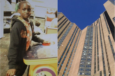 The building that Sidy Fofana, 9, fell from has a history of open violations with the city's Department of Buildings.