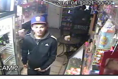One of the suspects in the Changarrito grand larceny.