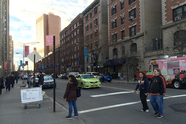 New York Presbyterian and Columbia Medical Center are proposing getting rid of most parking spaces on 168th Street between Fort Washington Avenue and Broadway.