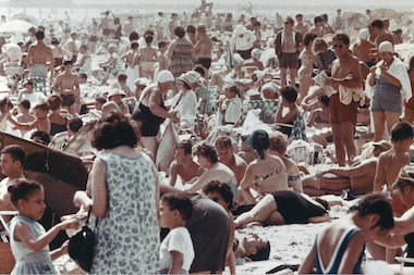 Aaron Rose took a series of photographs at Coney Island from 1961 to 1963. Seventy of the unseen images are on display at the Museum of the City of New York.