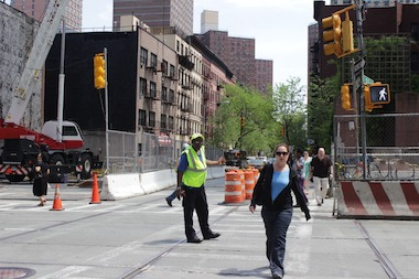 Crossing guards have been installed at 93rd Street and Second Avenue after a second pedestrian was hit.