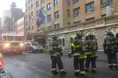 A transformer fire in the basement of a Midtown hotel prompted an evacuation, the FDNY said.